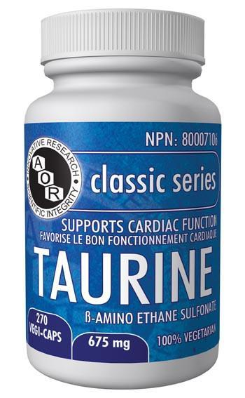 Supplements & Vitamins - AOR - Taurine, 270 Caps
