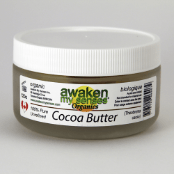 Supplements & Vitamins - Awaken My Senses Organics - Cocoa Butter - 120g