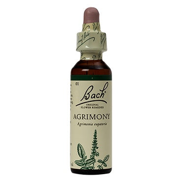 Supplements & Vitamins - Bach Original Flower Remedies - Agrimony, 20ml