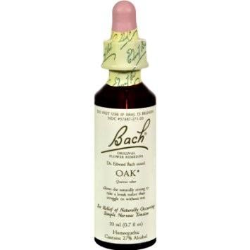Supplements & Vitamins - Bach Original Flower Remedies - Oak, 20ml