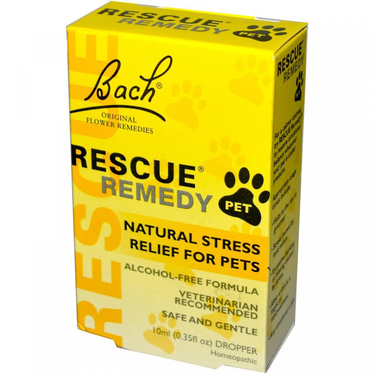 Supplements & Vitamins - Bach Original Flower Remedies - Rescue Pet, 10 Ml