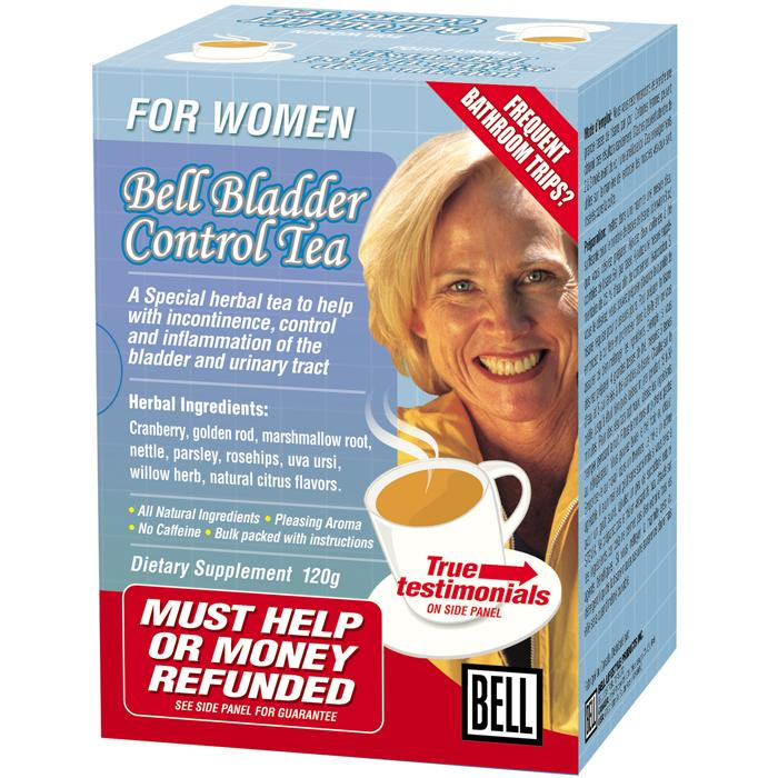 Supplements & Vitamins - Bell - Bladder Control Tea, 120G
