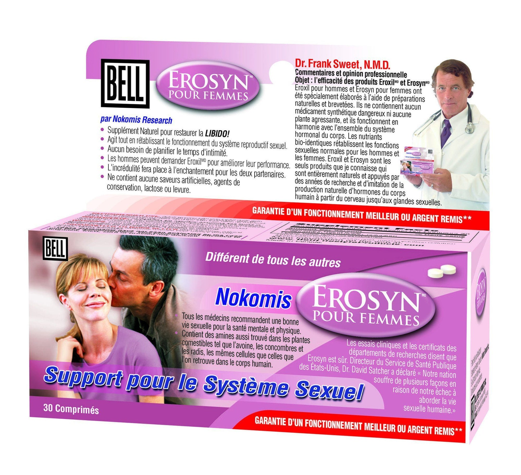 Supplements & Vitamins - Bell - Nokomis Erosyn For Women, 30 Caps