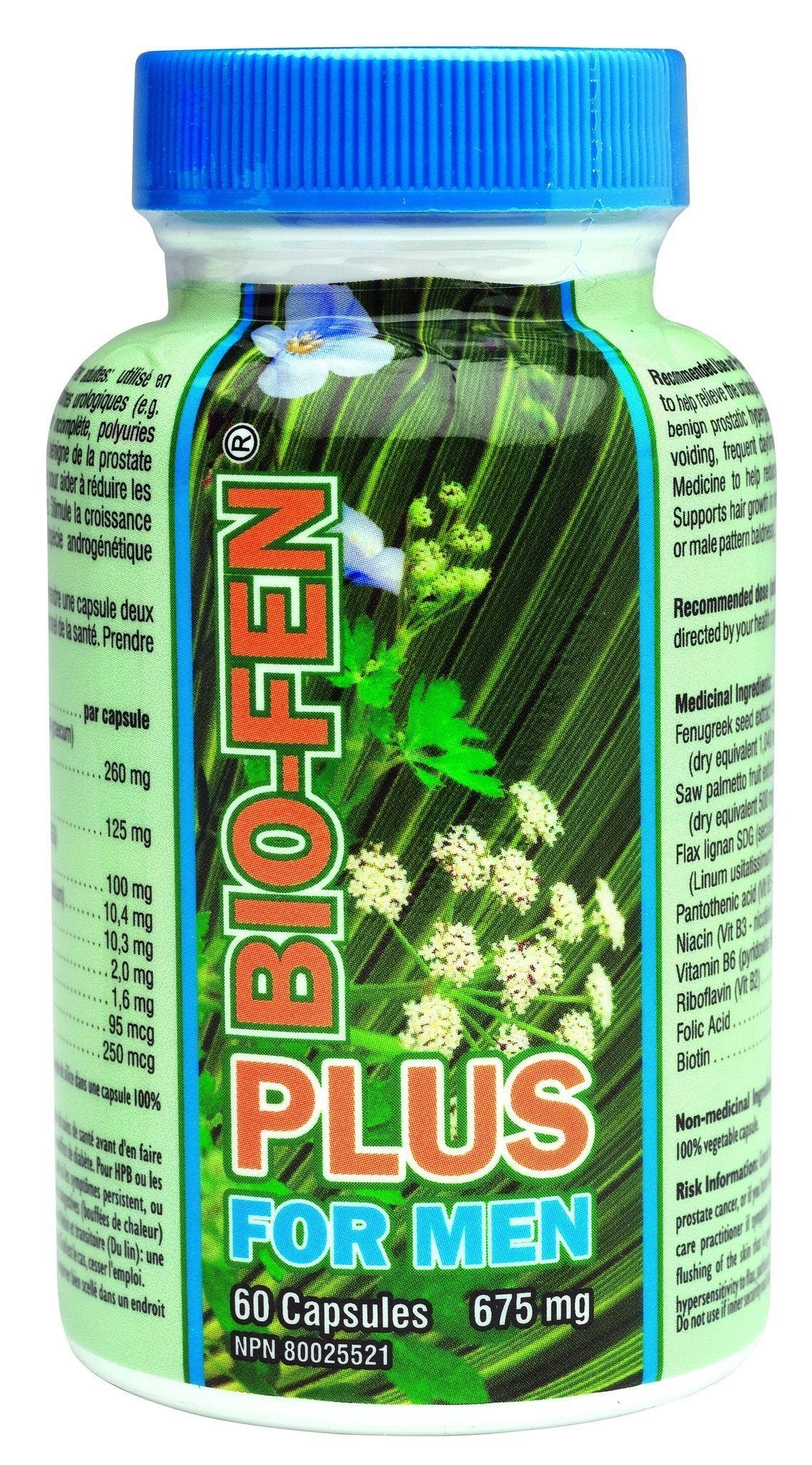 Supplements & Vitamins - Bio-Fen - Bio-Fen Plus For Men, 60 Caps