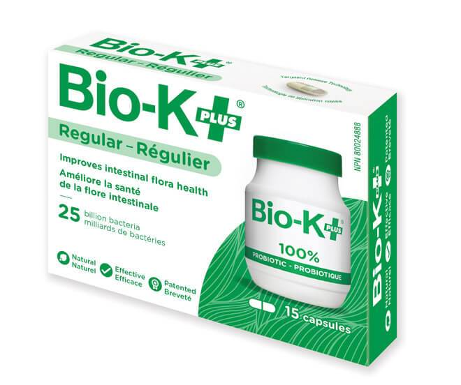 Supplements & Vitamins - BIO-K+ - Probiotic 25 Billion, 15 Caps