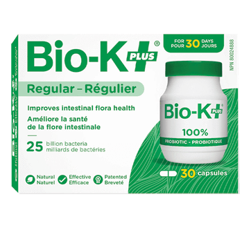 Supplements & Vitamins - BIO-K+ - Probiotic 25 Billion, 30 Caps