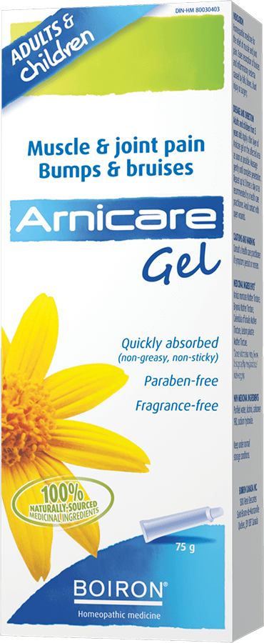 Supplements & Vitamins - Boiron - Arnicare Gel, 75g