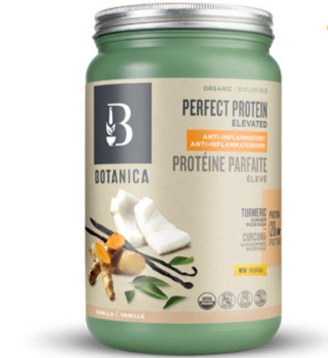 Supplements & Vitamins - Botanica - Perfect Protein Elevated Anti-Inflammatory, 629g