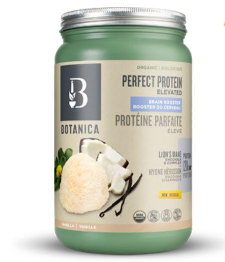 Supplements & Vitamins - Botanica - Perfect Protein Elevated Brain Booster, 606g