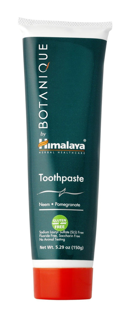Supplements & Vitamins - Botanique By Himalaya -Neem & Pomegranate Toothpaste, 150g
