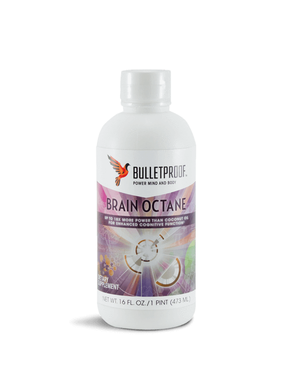 Supplements & Vitamins - Bulletproof - Brain Octane MCT Oil -  473ml