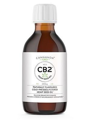 Supplements & Vitamins - Cannanda - CB2 Hemp Seed Oil, 240ml