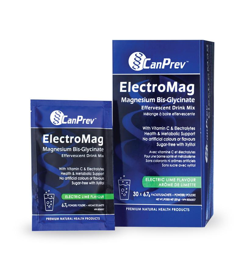 Supplements & Vitamins - CanPrev - Electromag Sachet, 6.7g