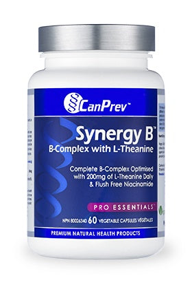 Supplements & Vitamins - CanPrev - Synergy B - 60VCaps