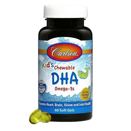 Supplements & Vitamins - Carlson - Kids Chewable Dha, 60 Softgels