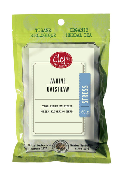 Supplements & Vitamins - Clef Des Champs - Organic Oatstraw Tea, 60g