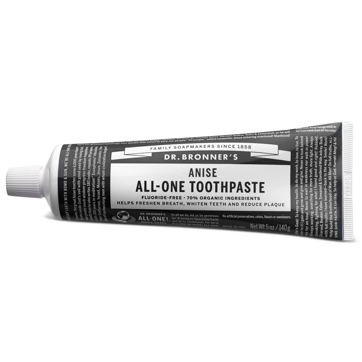 Supplements & Vitamins - Dr. Bronner's - Star Anise Toothpaste, 140g