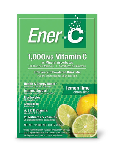 Supplements & Vitamins - Ener-C - Lemon Lime, 1 Sachet