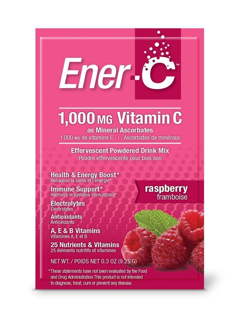 Supplements & Vitamins - Ener-C - Raspberry, 1 Sachet