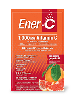 Supplements & Vitamins - Ener-C - Tangerine Grapefruit, 1 Sachet