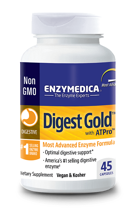 Supplements & Vitamins - Enzymedica - Digest Gold, 45 Caps