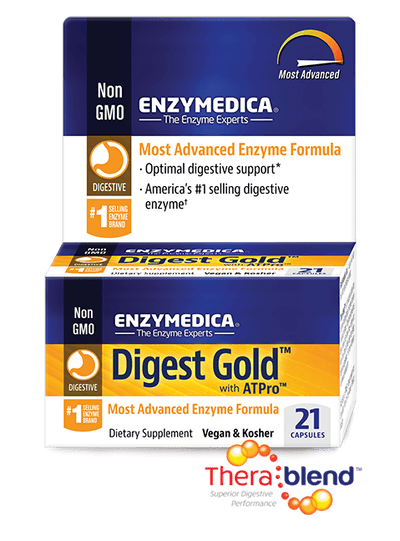 Supplements & Vitamins - Enzymedica - Digest Gold Travel Pack, 21 Caps