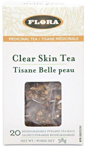Supplements & Vitamins - Flora - Clear Skin Tea, 20 Bags