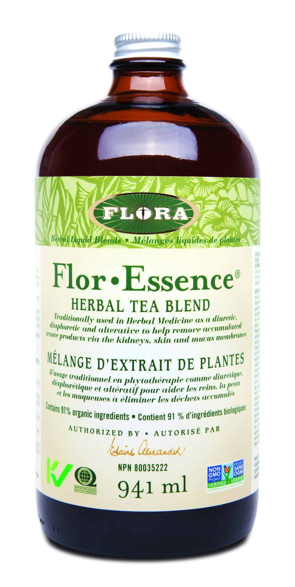 Supplements & Vitamins - Flora - Flor-Essence Herbal Tea, 941ml