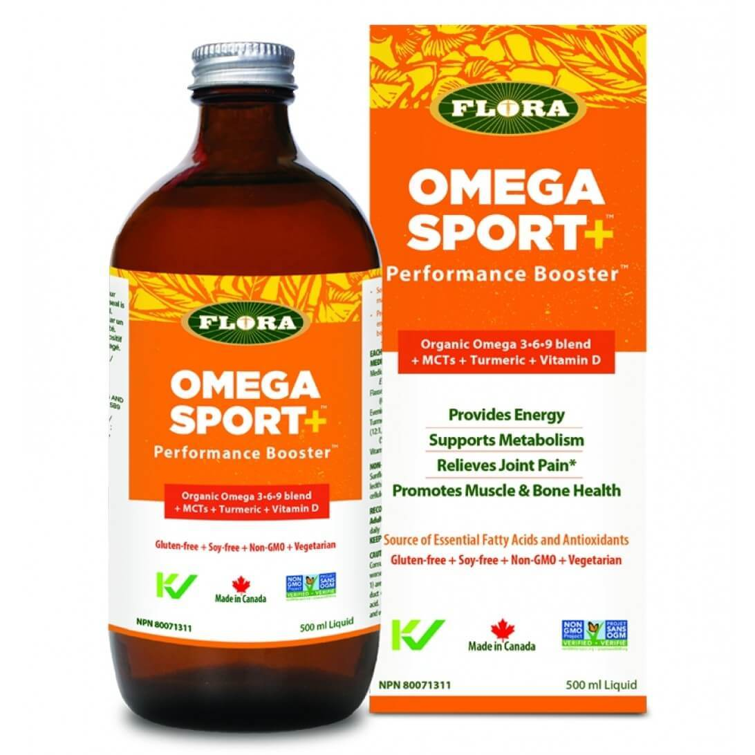 Supplements & Vitamins - Flora - Omega Sport+, 500ml