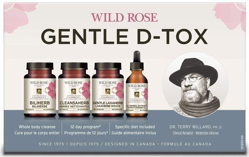 Supplements & Vitamins,Food & Drink - Wild Rose - Gentle D-Tox Program, 1 Unit