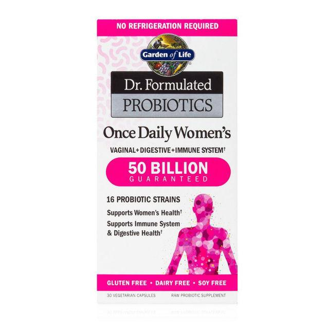 Supplements & Vitamins - Garden Of Life - Dr. Formulated Probiotics Women's One Daily - 30 V-Caps