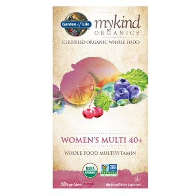 Supplements & Vitamins - Garden Of Life - Multivitamin Women's 40+ - 60 Vegan Tabs
