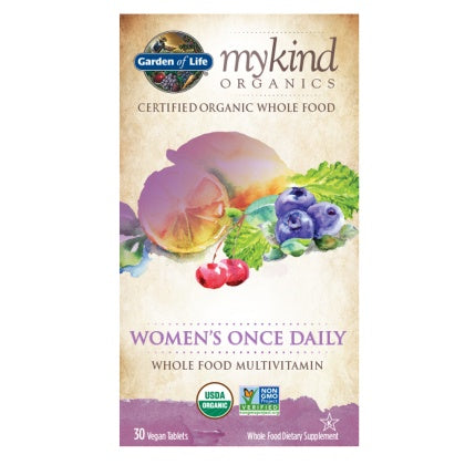 Supplements & Vitamins - Garden Of Life - Multivitamin Womens Once Daily - 30 Vegan Tablets