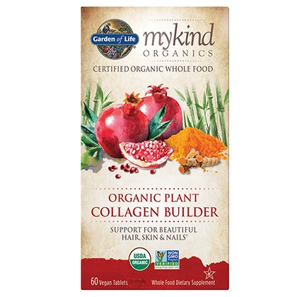 Supplements & Vitamins - Garden Of Life - Mykind Organic Plant Collagen Builder, 60 TABS