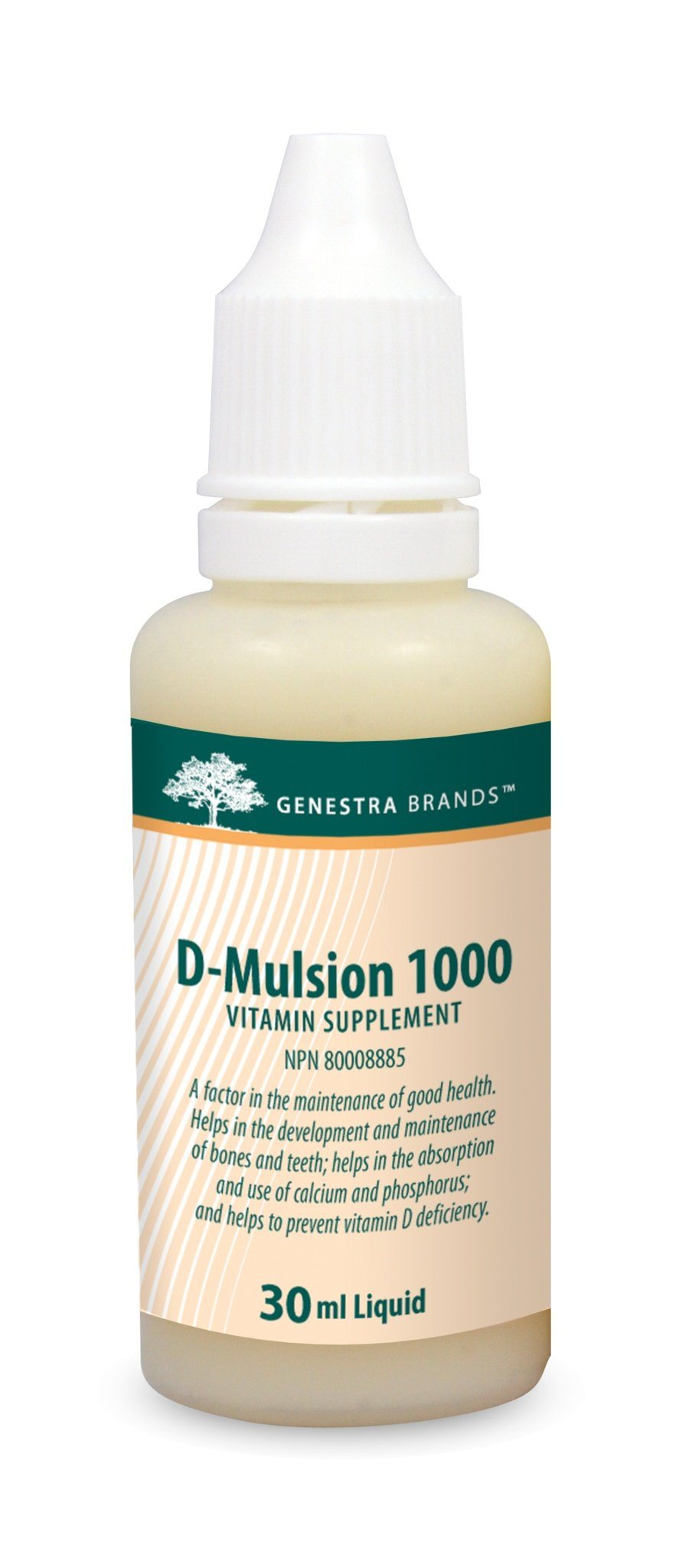 Supplements & Vitamins - Genestra - D-Mulsion 1000, 30ml