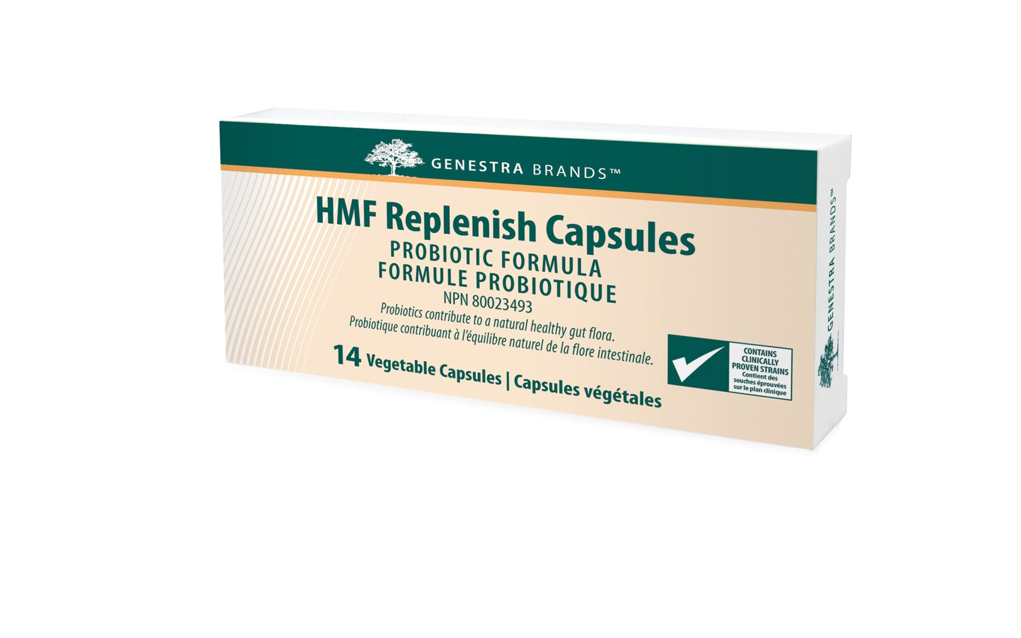 Supplements & Vitamins - Genestra - HMF Replenish, 14 V-Caps