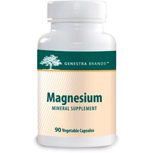 Supplements & Vitamins - Genestra - Magnesium, 90 Vc