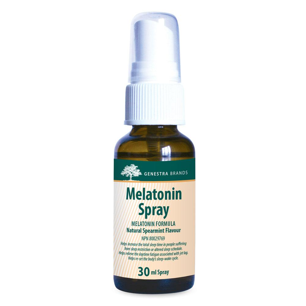 Supplements & Vitamins - Genestra - Melatonin Spray, 30ml