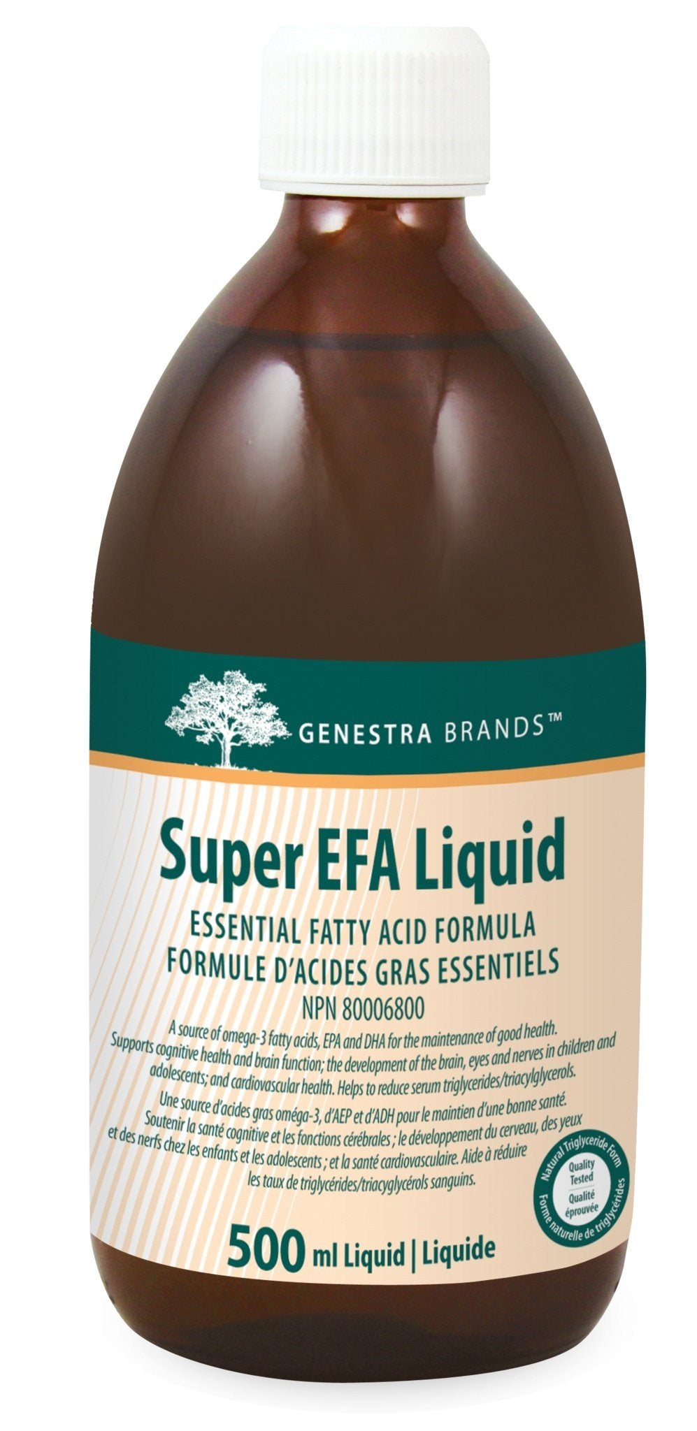 Supplements & Vitamins - Genestra - Super EFA Liquid, 500ml