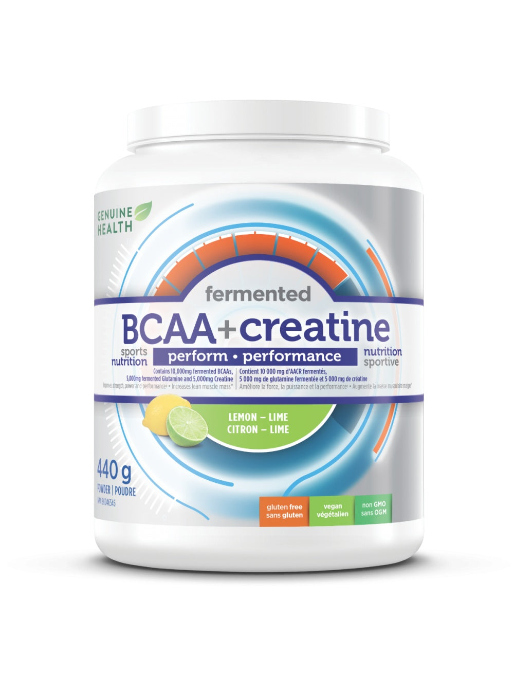 Supplements & Vitamins - Genuine Health - BCAA & Creatine, 440g