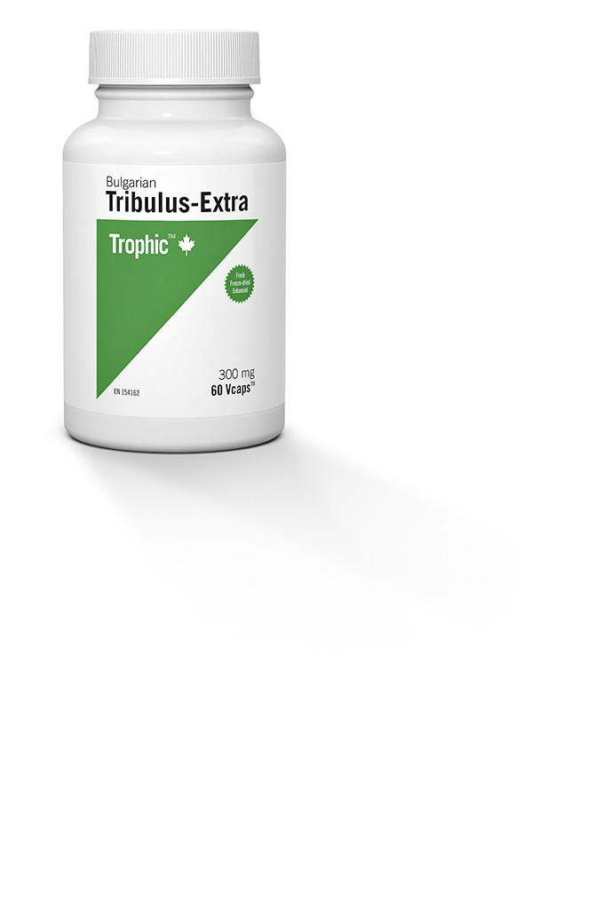 Supplements & Vitamins,Gluten Free,Dairy Free,Vegan,Vegetarian,Wheat Free - Trophic - Bulgarian Tribulus Extra, 60 Caps