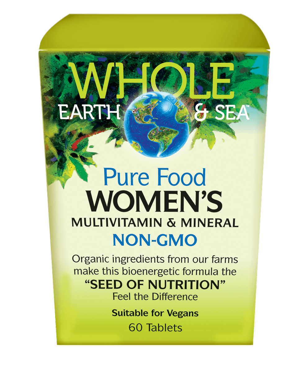 Supplements & Vitamins,Gluten Free,Non GMO - Whole Earth & Sea - Women's Multivitamin & Mineral, 60 Tabs