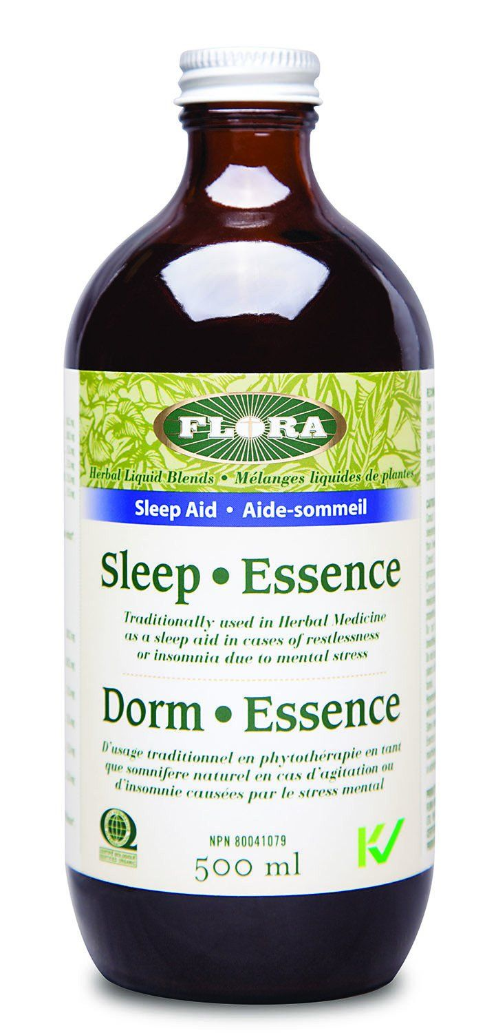Supplements & Vitamins,Gluten Free,Vegan,Vegetarian,Organic,Non GMO,Food & Drink - Flora - Sleep•Essence, 500ml