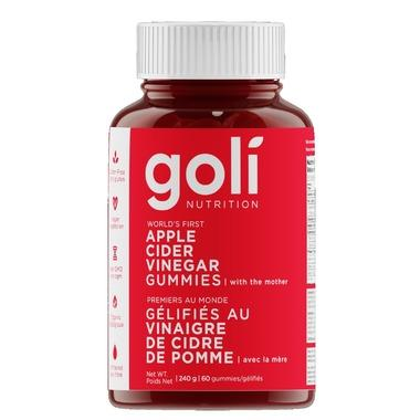 Supplements & Vitamins - Goli - Apple Cider Vinegar Gummy, 60 Gummies