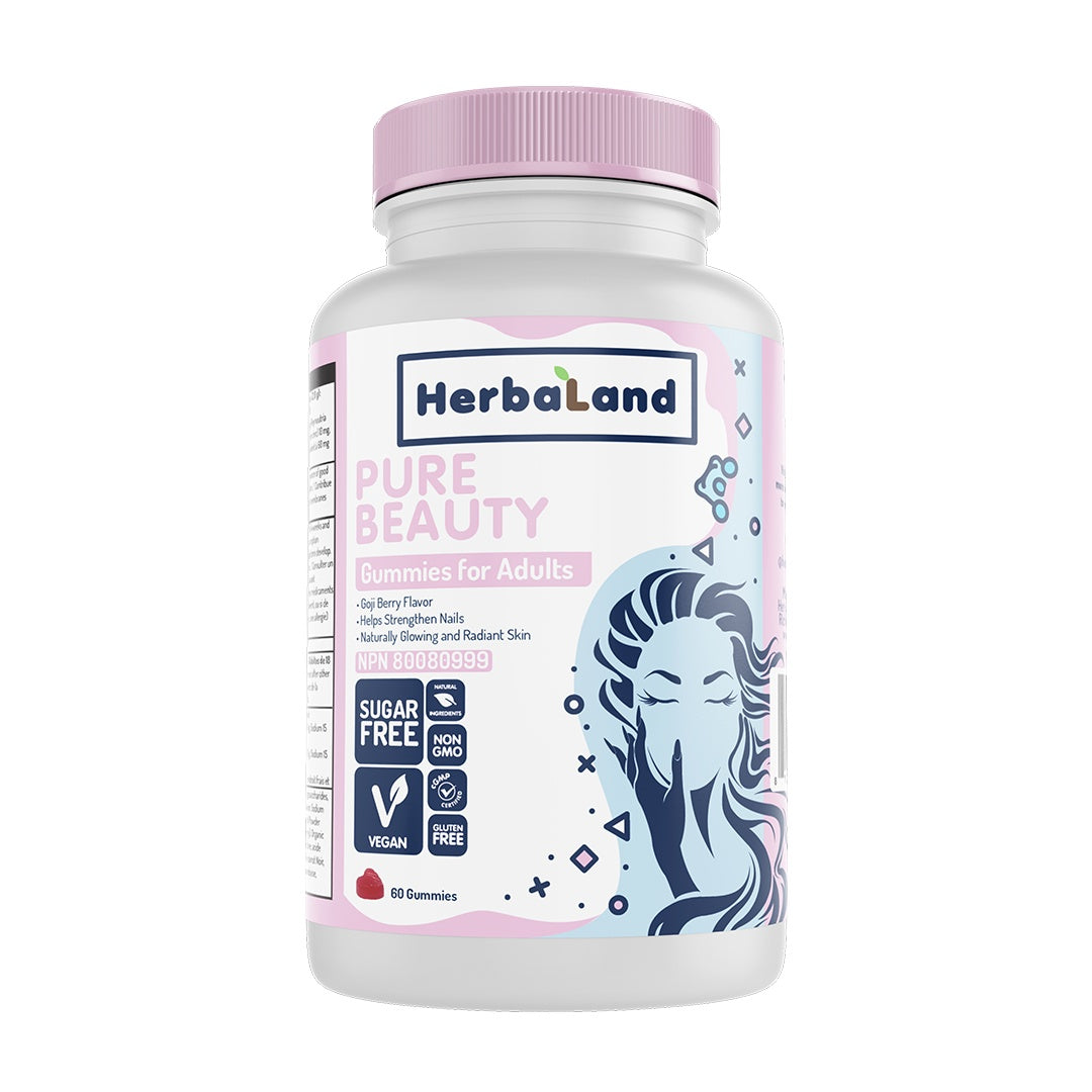 Supplements & Vitamins - Herbaland - Gummies For Adults, Pure Beauty, 60 Count