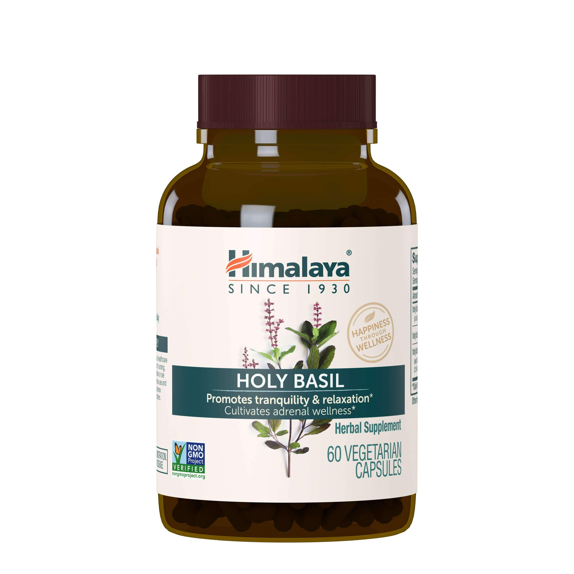 Supplements & Vitamins - Himalaya Herbal Healthcare - Holy Basil, 60 Capsules