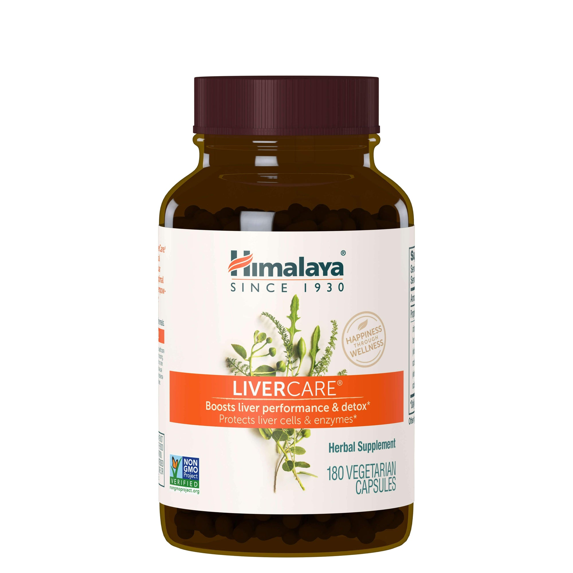 Supplements & Vitamins - Himalaya Herbal Healthcare - LiverCare, 180 Capsules