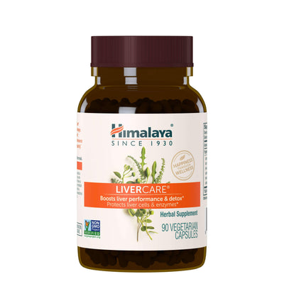 Supplements & Vitamins - Himalaya Herbal Healthcare - LiverCare, 90 Capsules