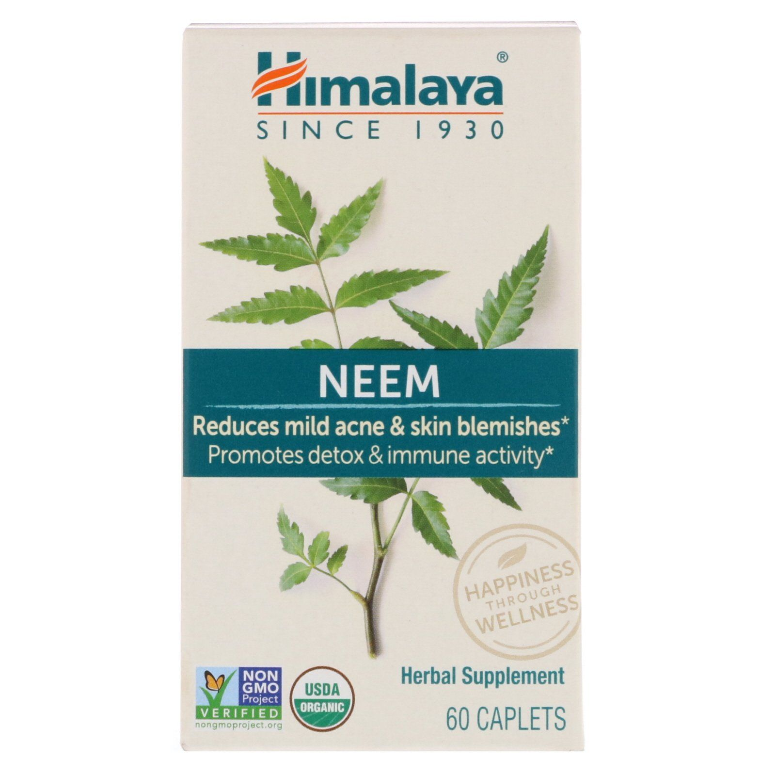 Supplements & Vitamins - Himalaya Herbal Healthcare - Neem, 60caps