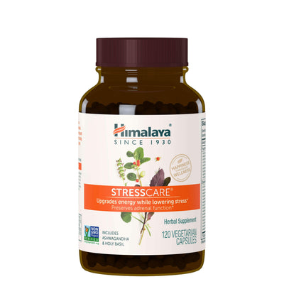 Supplements & Vitamins - Himalaya Herbal Healthcare - Stress Care, 120 Capsules